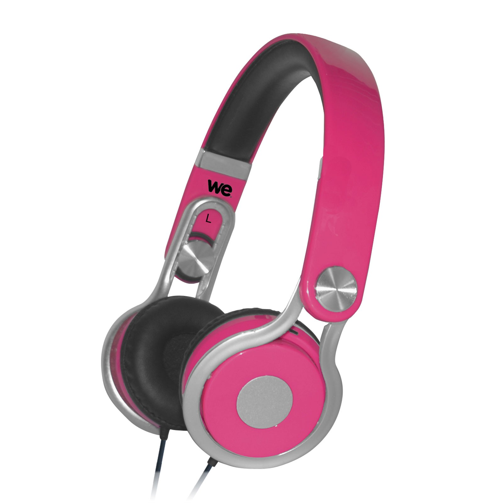 casque audio enfant rose we