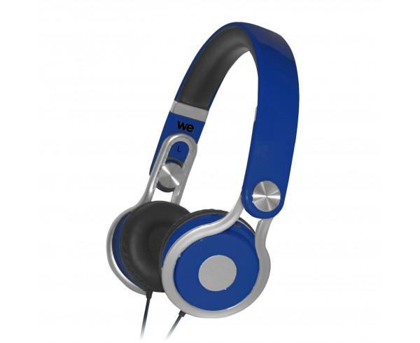 Casque audio enfant bleu