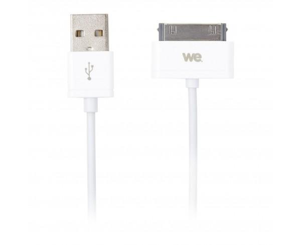 Câble USB iPhone 30 pin - WE