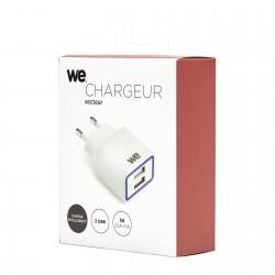 Chargeur secteur 2 USB 2,1A