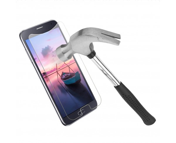 Protection d'écran en verre trempé universel 4,5-4,7 pouces - WE Connect