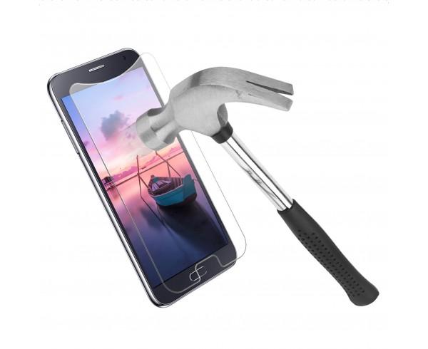 Protection d'écran en verre trempé universel 4,9-5,1 pouces - WE Connect