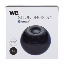Enceinte Soundbox S4 à LED
