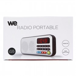 Radio portable rechargeable