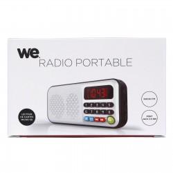 Radio portable rechargeable