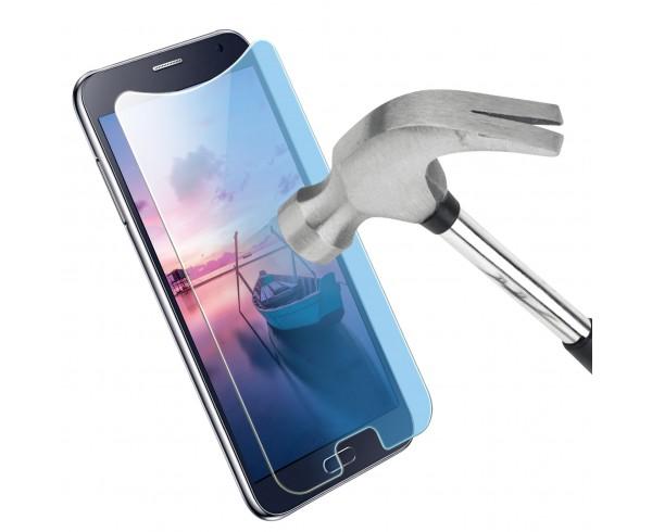 Protection d'écran en verre trempé anti-lumière bleue universel 4,5-4,7'' - WE