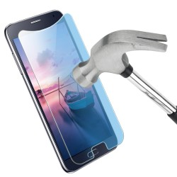Protection d'écran en verre trempé anti-lumière bleue universel 5,3-5,5''