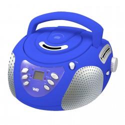 Lecteur Radio CD-MP3-USB-SD enfant bleu