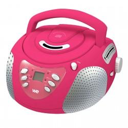 Lecteur Radio CD-MP3-USB-SD enfant rose
