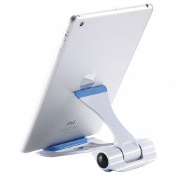 WE S-101 Support Tablette Bleu