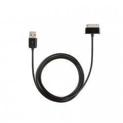 Câble USB WE pour Galaxy Tab 1&2 1m noir
