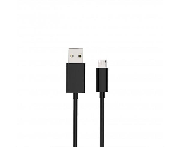 Câble USB/Micro USB coudé noir