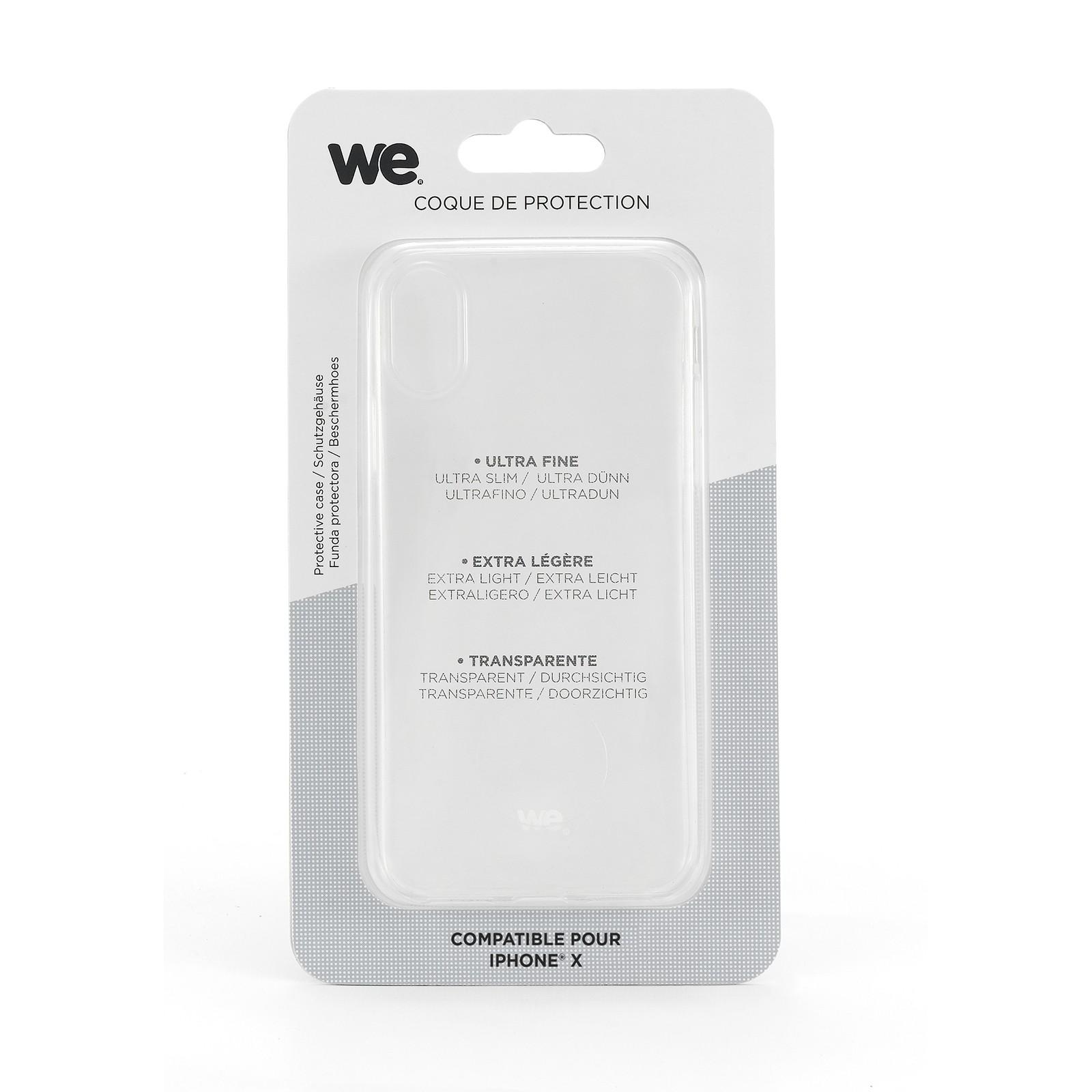 coque iphone xr semi transparent