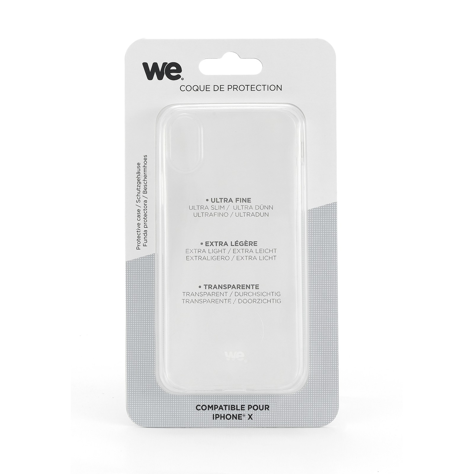 tpu transparent silicone coque pour iphone xs