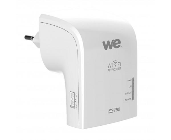 Répéteur wifi WE dual band AC750