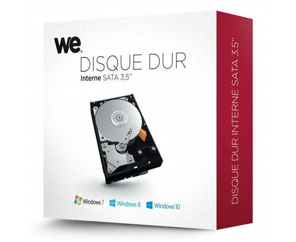 Disque dur interne 3,5'' 4To en Retail WE