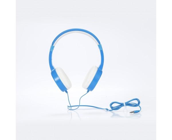 Casque enfant bleu (3 à 10 ans) pliable/réglable