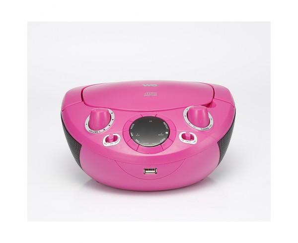 Lecteur - Radio CD - USB enfant - WERADCDUSB2R