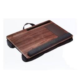 Plateau avec coussin WE pr PC port Tapis de souris/repose-poignet inté support smarphone/tablette intégré