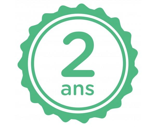 Extension de garantie 2 ans - Prix d'achat supérieur à 250€ TTC